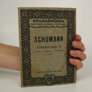 náhled knihy - Robert Schumann. Symphonie IV (je lehce cítit zatuchlinou)