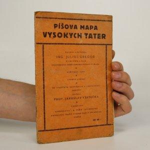 náhled knihy - Píšova mapa Vysokých Tater (viz foto)
