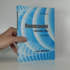 náhled knihy - Makroekonomie. Základní kurz.
