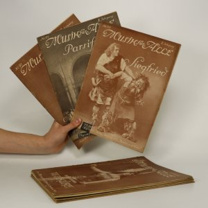 náhled knihy - 10 x notový sešit Musik für Alle (viz foto a stav)
