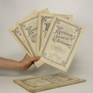 náhled knihy - 14 x notový sešit Musikalische Universalis Bibliothek (je lehce cítit zatuchlinou)