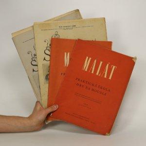 náhled knihy - 4 x Praktická škola hry na housle (Díly 1,2,6 a 9, nekompletní)