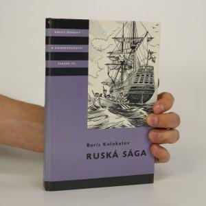 náhled knihy - Ruská sága