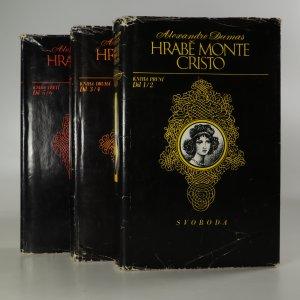 náhled knihy - Hrabě Monte Cristo (6 dílů ve 3 svazcích, komplet)