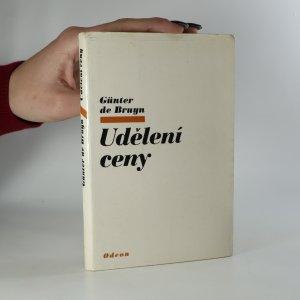 náhled knihy - Udělení ceny