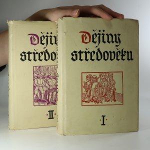 náhled knihy - Dějiny středověku I+II (2 díly ve dvou svazcích, komplet, je cítit kouřem)