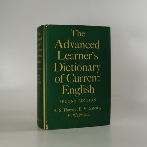 náhled knihy - The Advanced Learner's Dictionary of Current English