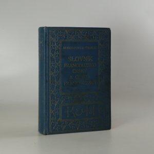 náhled knihy - Slovník francouzsko-český a česko-francouzský