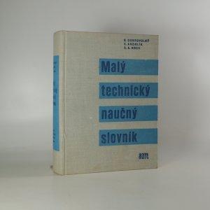 náhled knihy - Malý technický naučný slovník