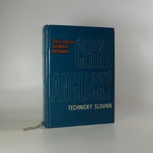 náhled knihy - Czech-English Technical Dictionary. Česko-anglický technický slovník (voní lakem)
