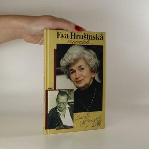náhled knihy - Eva Hrušínská vzpomíná... (voní lakem)
