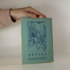 náhled knihy - Dětské pohádky s obrázky Mikoláše Alše