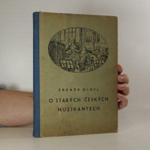 náhled knihy - O starých českých muzikantech
