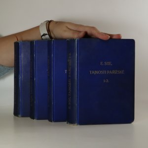 náhled knihy - Tajnosti pařížské 1-7 (7  dílů ve 4 svazcích)