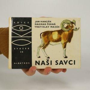 náhled knihy - Naši savci (voní lakem)