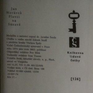 antikvární kniha Plavci na Sázavě, 1974
