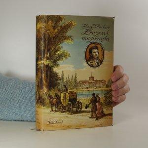 náhled knihy - Zrození muzikanta. Román ze života M.I. Glinky
