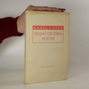 náhled knihy - Francouzská poesie (překlady)