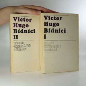 náhled knihy - Bídníci (2 díly ve dvou svazcích, komplet)