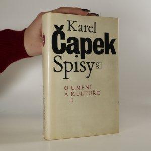 náhled knihy - O umění a kultuře I