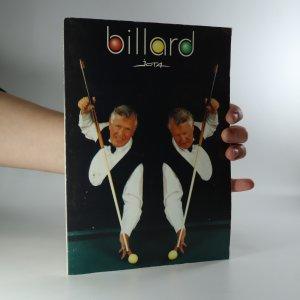 náhled knihy - Billard. Základní strky, volná hra a kádr