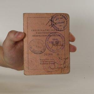 náhled knihy - Registrační průkaz. Repatriační úřad
