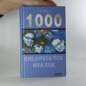 náhled knihy - 1000 chlapeckých otázek