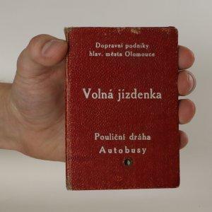 náhled knihy - Volná jízdenka na pouliční dráhu a autobusy Olomouc 1948