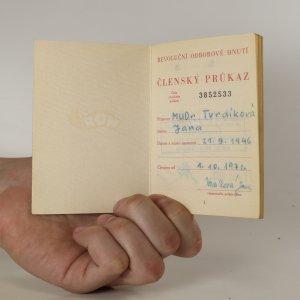 antikvární kniha Členský průkaz ROH, neuveden