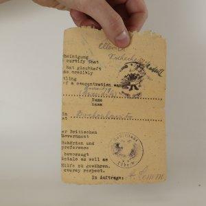 náhled knihy - Polovina dokumentu o koncentračním táboře