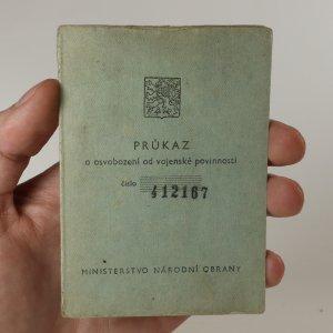 náhled knihy - Průkaz o osvobození od vojenské povinnosti