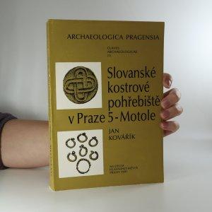 náhled knihy - Slovanské kostrové pohřebiště v Praze 5 - Motole