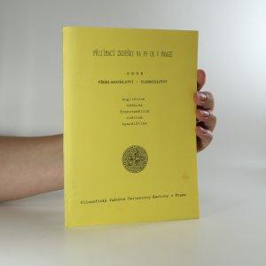 náhled knihy - Přijímací zkoušky na FF UK v Praze. Obor překladatelství - tlumočnictví