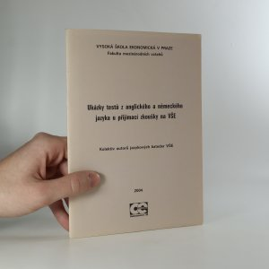náhled knihy - Ukázky testů z anglického a německého jazyka u přijímací zkoušky na VŠE