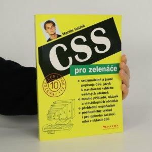 náhled knihy - CSS pro zelenáče