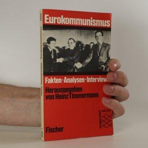 náhled knihy - Eurokommunismus. Fakten. Analysen. Interviews