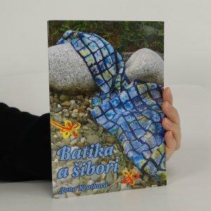 náhled knihy - Batika a šibori