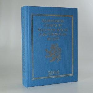 náhled knihy - Almanach českých šlechtických a rytířských rodů 2014