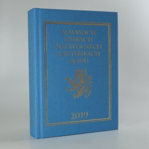 náhled knihy - Almanach českých šlechtických a rytířských rodů 2019