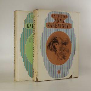 náhled knihy - Anna Kareninová I. a II. díl (2 svazky, komplet)