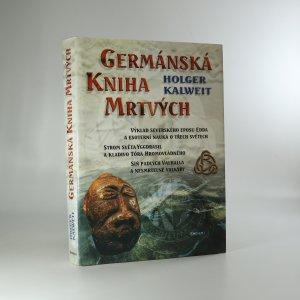 náhled knihy - Germánská kniha mrtvých
