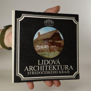 náhled knihy - Lidová architektura Středočeského kraje