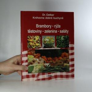 náhled knihy - Brambory, rýže, těstoviny, zelenina, saláty