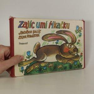 náhled knihy - Zajíc umí říkačku