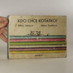 náhled knihy - Kdo chce koťátko?