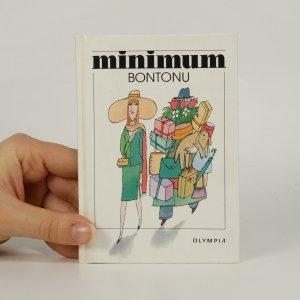 náhled knihy - Minimum bontonu