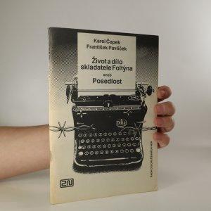 náhled knihy - Život a dílo skladatele Foltýna aneb Posedlost. Dramatická symfonie
