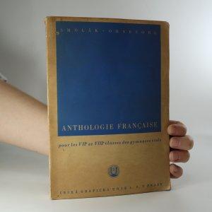 náhled knihy - Anthologie Francaise pour les VIIe et VIIIe classes des gymnases réals