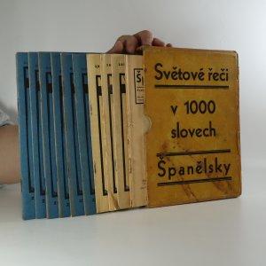 náhled knihy - Světové řeči v 1000 slovech. Španělsky (10 sešitů, viz poznámka)