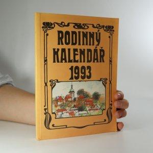 náhled knihy - Rodinný kalendář 1993
